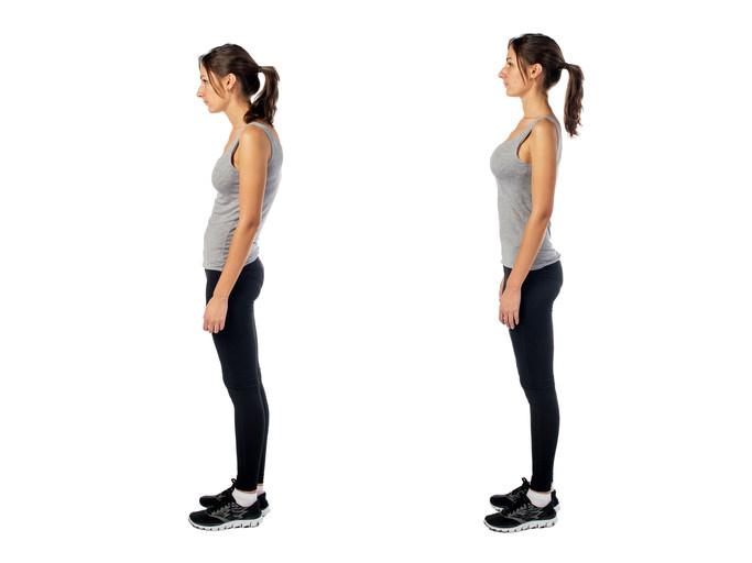 Prävention: Gute Körperhaltung beeinflusst innere Organe und Psyche