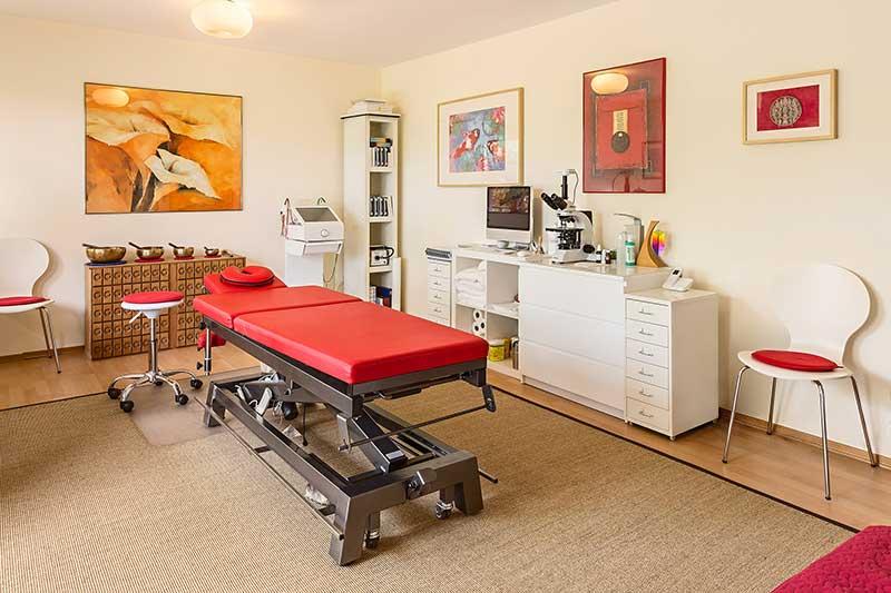 Behandlungsbereich für Naturheilkunde